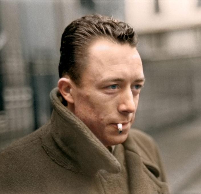 Nobel prize winner Albert Camus (1913-1960)