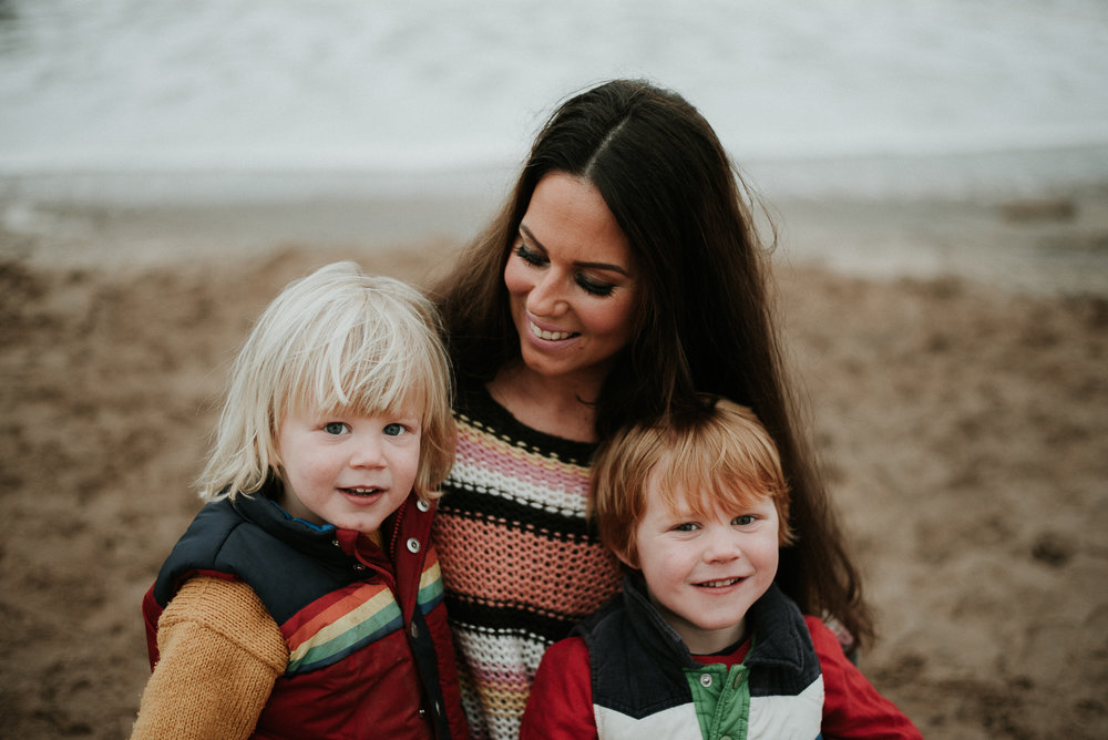 Family photoshoot in Devon