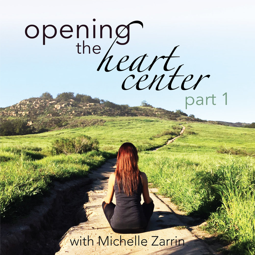 Hello Newsletter Family!  We have a new meditation series releasing soon. It is called  Opening the Heart Center . And there is so much content within this topic that we have broken it down into  two series .  The first series,  Opening the Heart Center Part 1,  will be released on May 15th on Podcast. I do not have a release date yet for Insight Timer. They generally take about 5-10 days from the day we submit the series, to releasing the series.  Once Insight Timer has released this new series, I will make the announcement on social media.  Here is what you can expect from  Part 1  of this new meditation series:  Love versus fear  Releasing resistance  Moving from the mind to the heart  Compassion  Self love  This is a ten day series. We will begin with 11 minutes of meditation on Day 1. We will add one minute each day, until we are meditating for 20 minutes by Day 10.  And we will move  deeper  into the heart center with  Part 2  of this series.   Part 2  is set to be released about one month after the release of  Part 1 .  I look forward to sharing this new internal journey with you!   If you know of anyone who could benefit from the message of this newsletter, please share it with them.    I wish each of you a lovely week!  With Gratitude,  Michelle   MichelleZarrin.com   info@MichelleZarrin.com