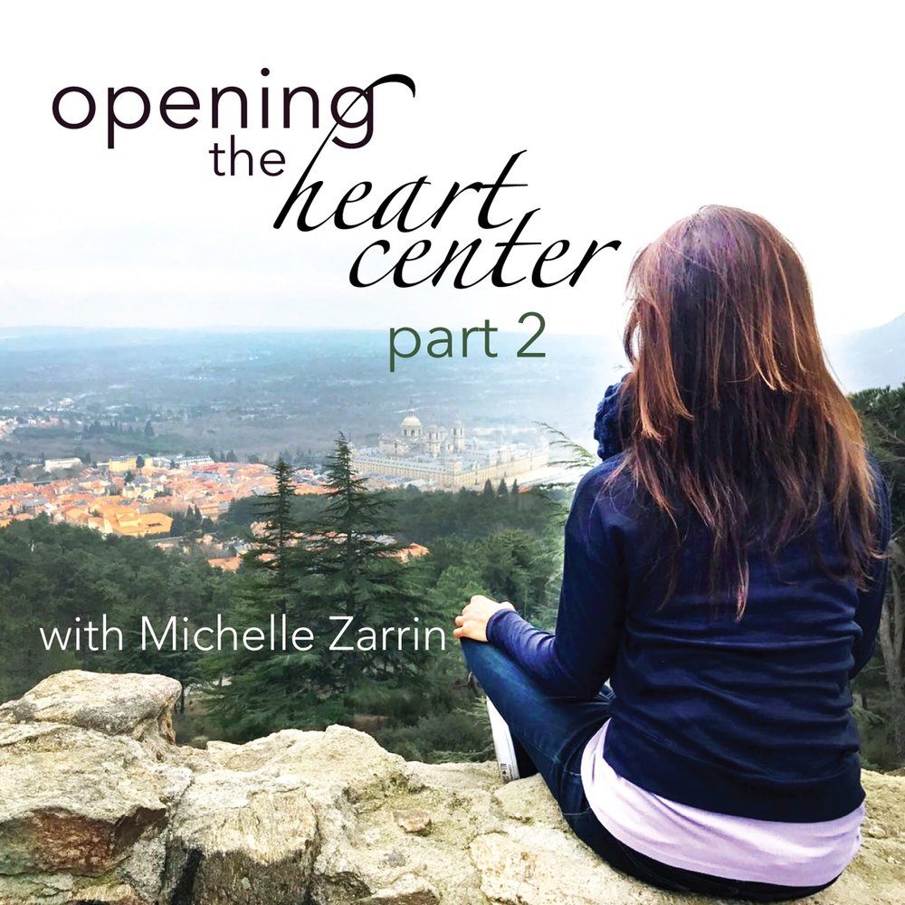 Hello Newsletter Family!  First of all, my apologies for not being clear about the release dates of Parts 1 and 2 of this series. They were not scheduled for release back to back, but a few weeks apart. Part 2 does move deeper within our essence, our heart center.. But it is also its own series, so it is not necessary to move right into Part 2 after the completion of Part 1.   A note about Part 2:   The actual new content will begin on Day 2 of this new series. The Insight Timer app gets about 40,000 new meditators per month. So each time I structure a series, I have to keep in mind all the new people coming through, plus all of the people who have meditated with our series before. So Day 1 will be new, but a bit of an intro to this new series.  The content for Opening the Heart Center Part 2 will be:  Guilt and Shame  Forgiveness  Vulnerability  Authenticity  This is a ten day series. We will meditate for 11 minutes on Day 1. We will add one minute per day until we are meditating for 20 minutes on Day 10.  The release date for this new series on Podcast is June 15th. We will email Insight Timer and ask for a release date of June 19th on the app. But the actual date of release will be up to them.  Once Insight Timer has also released this new series, I will make the announcement on social media.  I look forward to sharing this new internal journey with all of you!   If you know of anyone who could benefit from the message of this newsletter, please forward it to them.   I wish each of you a blessed week!  With Gratitude,  Michelle   MichelleZarrin.com   info@MichelleZarrin.com