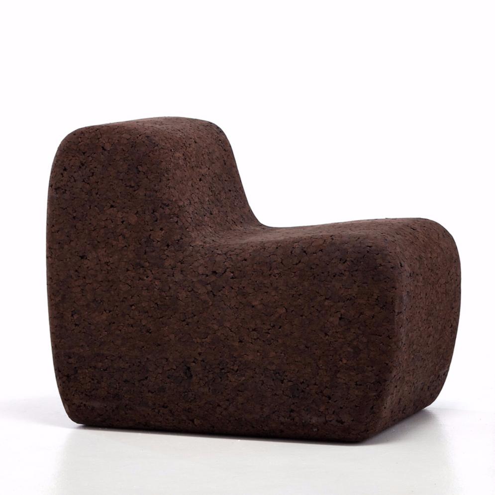 gervasoni cork 05 - Armchair in cork.