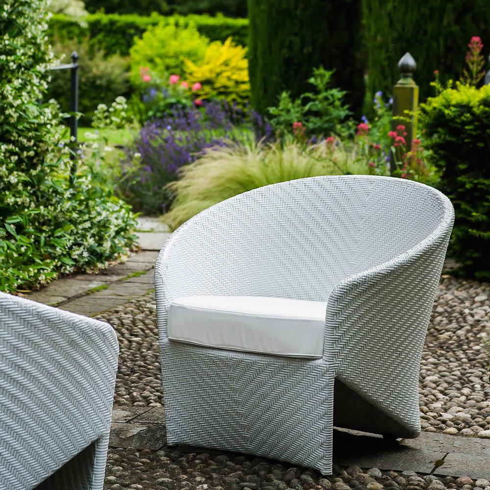 bonacina1889 - Marine Group: Dining chair. Milk color