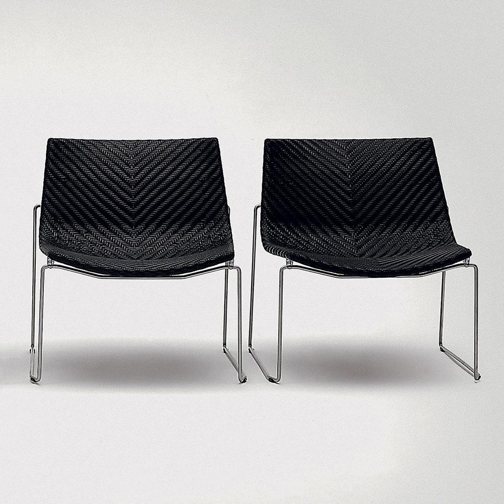 bonacina1889 - Chylium Lounge Chair: Various colors