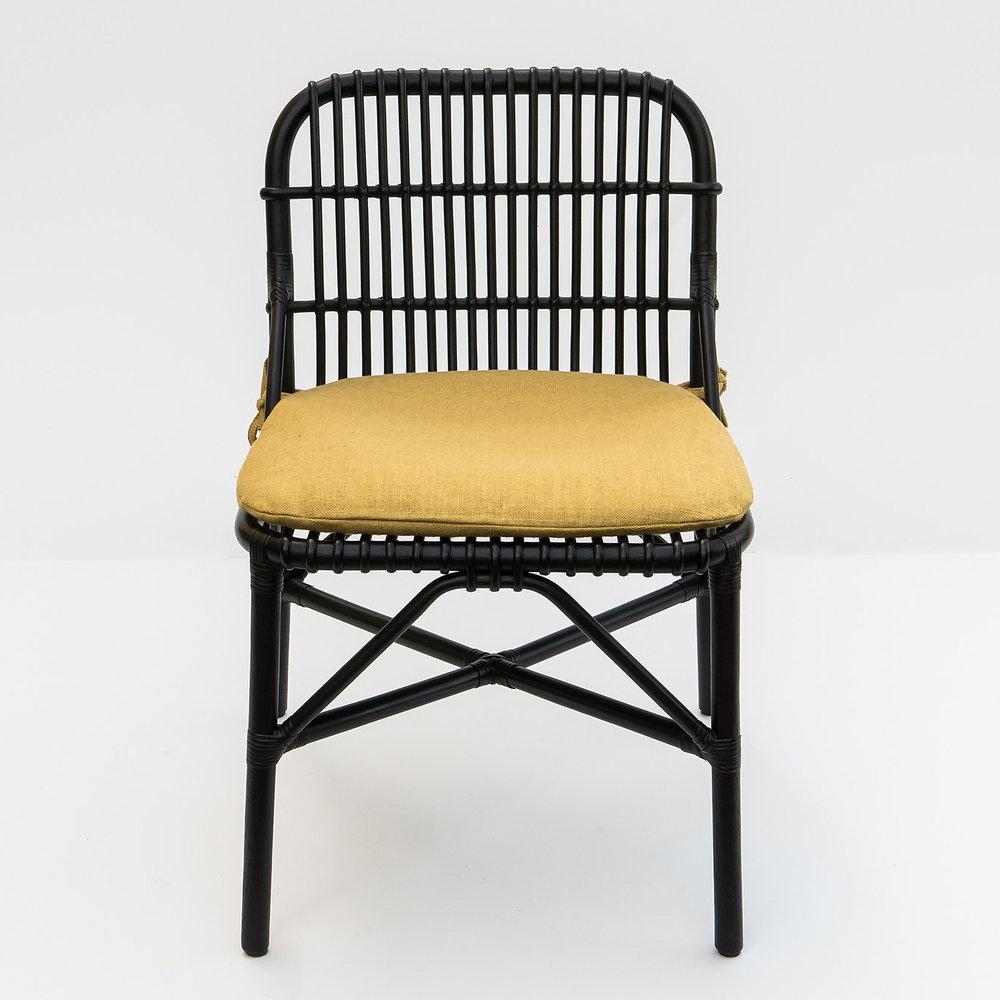 bonacina Wild - Wild Dining Chair: Rattan skin or raw