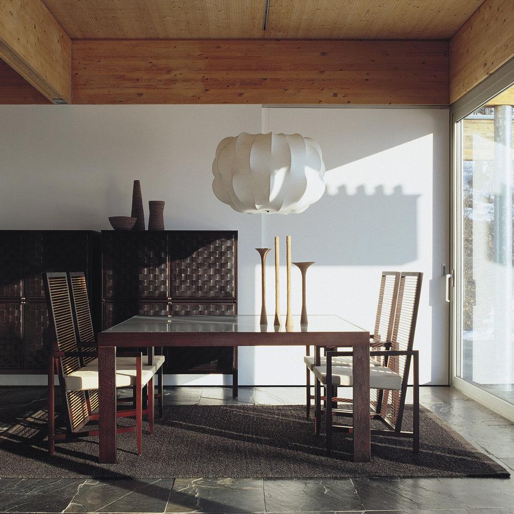 bonacina Astoria - Astoria Dining Chair: Various woods