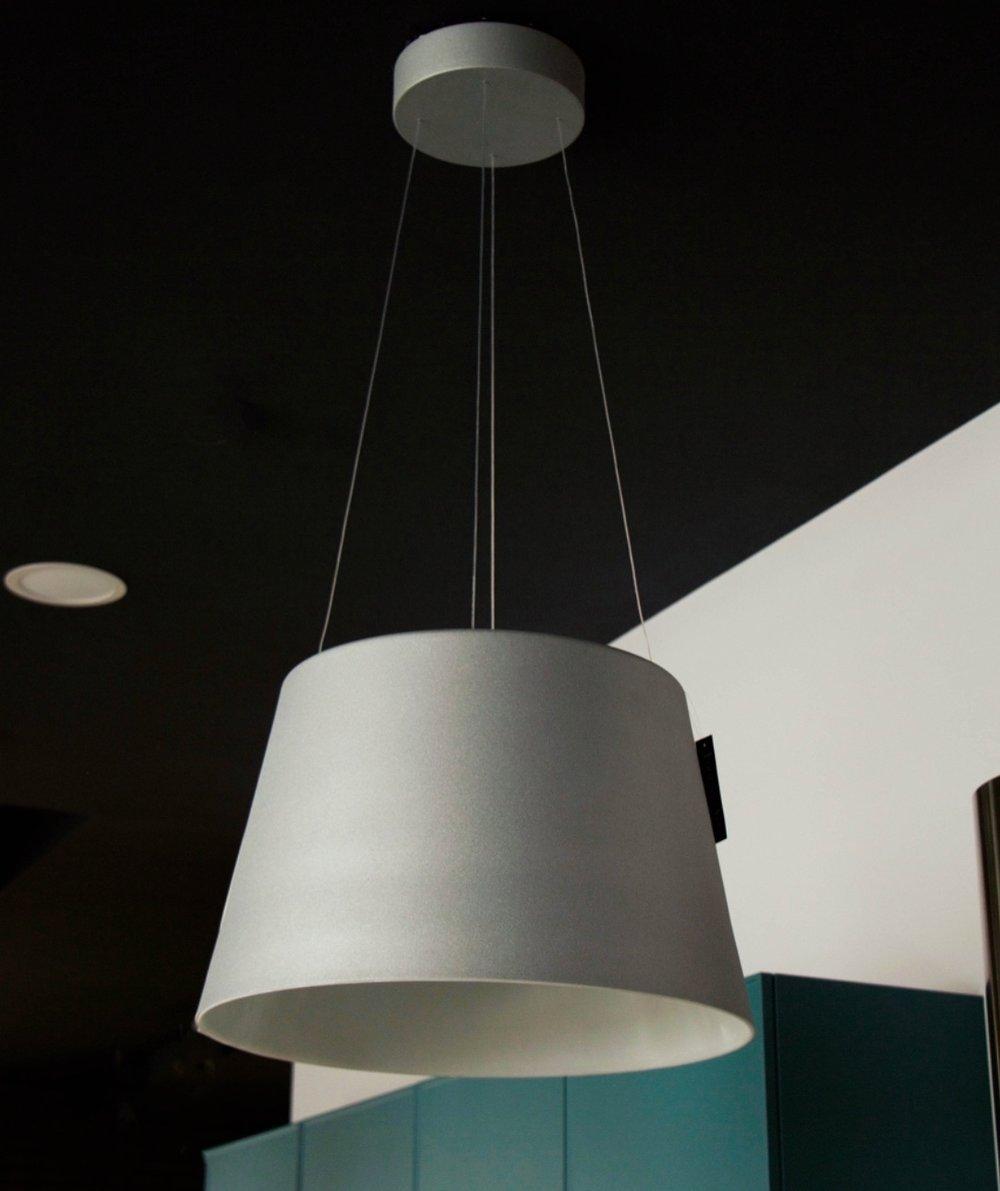 Fontana Arte - Aurea Lamp. Color: Silver