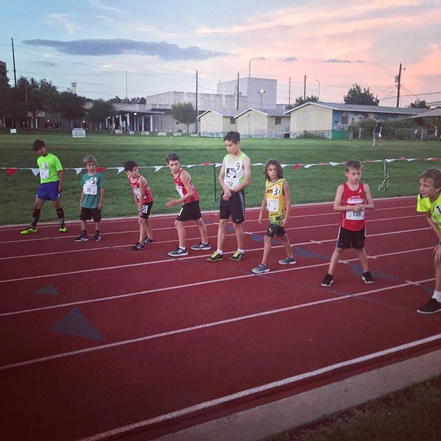 Great night at Back the Track Relays. Thanks to @backthetrackatx for letting me participate! See link in bio for results.