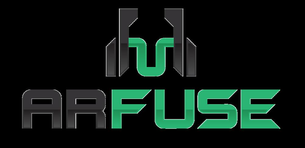 ARFuse transparent black logo