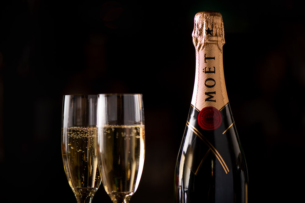 Moët CHAMPAGNE SPECIAL - MOËT IMPERIAL BRUT - 750ML- $65 PER BOTTLE  MOËT IMPERIAL ROSÉ MINI - 187ML - $21 PER BOTTLE