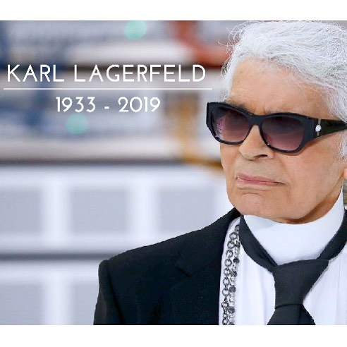 We are saddened to hear about the loss of Karl Lagerfeld. A true fashion icon and creative pioneer. . . . . #news #fashion #chanel #icon #creative #sad #pioneer #fashiondesigner #designer #trailblazer #atelier #karllagerfeld #karl