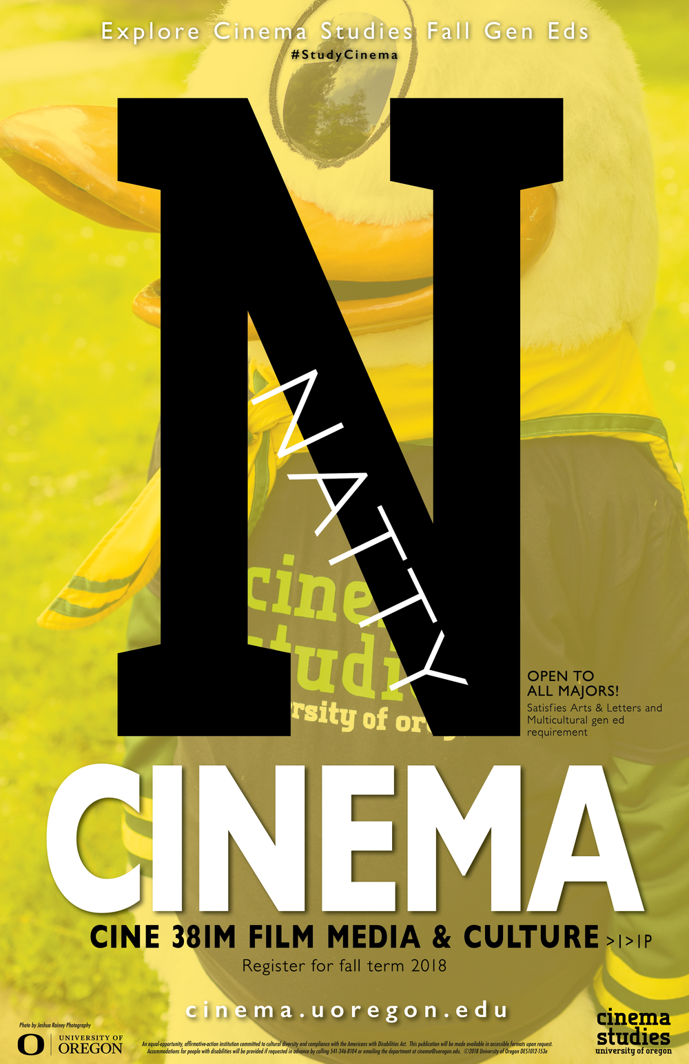 """N"" Poster"