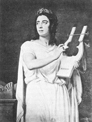 Viardot as Orphée