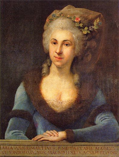 Marianna Martines - Born: May 4, 1744, Vienna, AustriaDied: December 13, 1812, Vienna, Austria