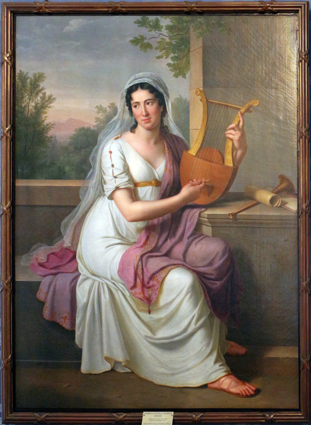 Isabella Colbran - Born: February 2, 1785, Madrid, SpainDied: October 7, 1845, Bologna, Italy