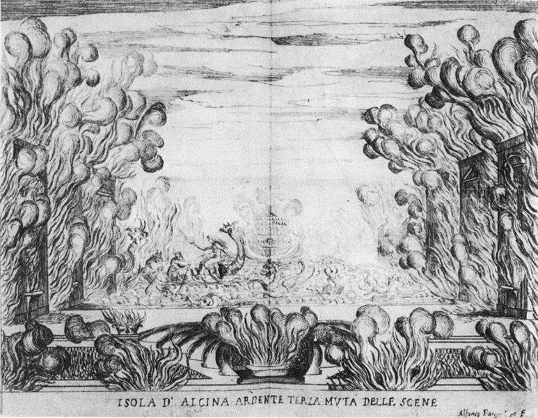 Scene 3 from  La Liberazione di Ruggiero