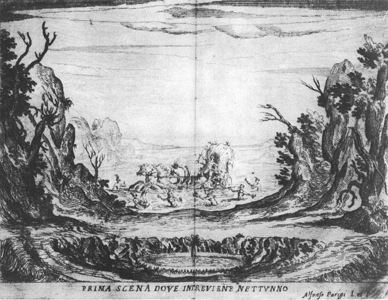 Scene 1 from  La Liberazione di Ruggiero