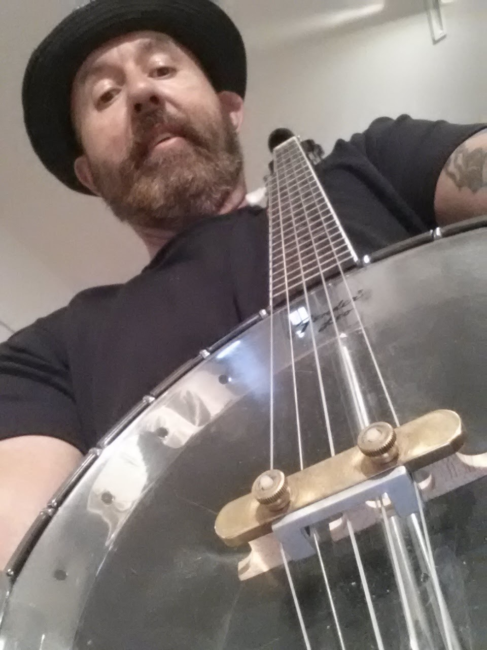 My first good banjo, I bought for $400. with change I saved in a one gallon mayonaise jar.