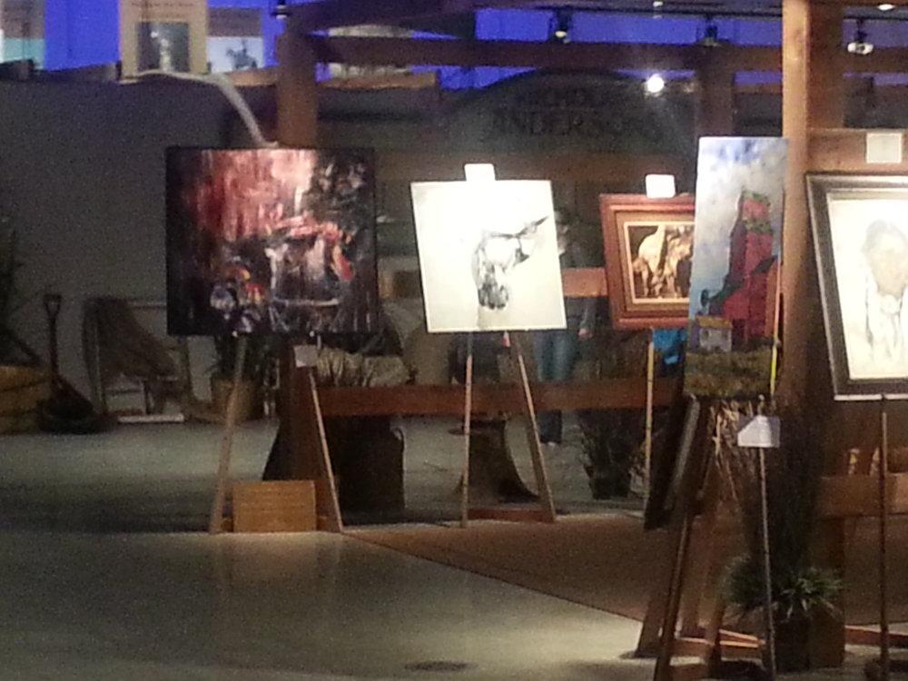 Calgary Stampede, Art Gallery , July 2016