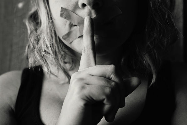Covertly abused Christian women are told to be quiet by narcissist controllers