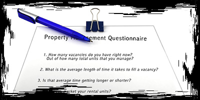 Due Diligence - Property Management Questionnaire