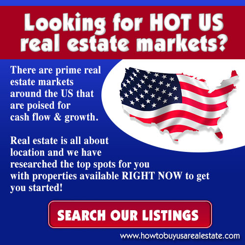 Find the top US real estate investment markets