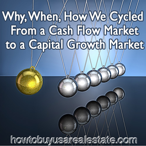 Why, When, How We Cycled from a Cash Flow Market to a Capital Growth Market