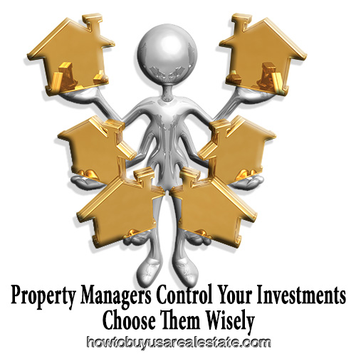 Property Managers Control Your Investments Choose Them Wisely