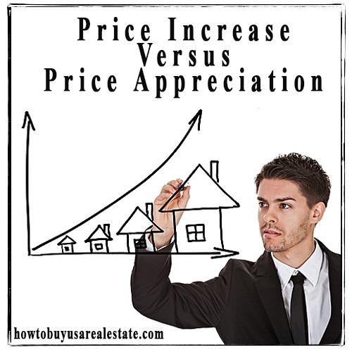 Price Increase Versus Price Appreciation