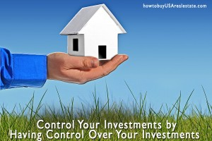 Control Your Investments by Having Control Over Your Investments