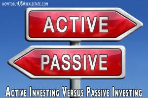 Active Investing Versus Passive Investing