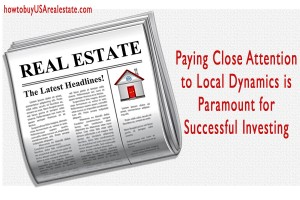 Paying Close Attention to Local Dynamics is Paramount for Successful Investing