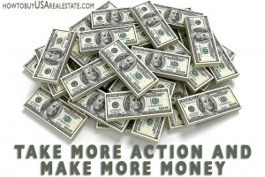 Take More Action and Make More Money