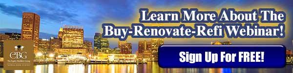 Baltimore Buy Renovate Refi Webinar