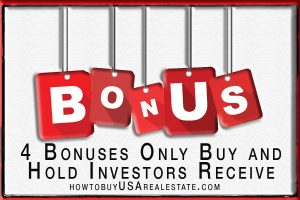 4 Bonuses Only Buy and Hold Investors Receive