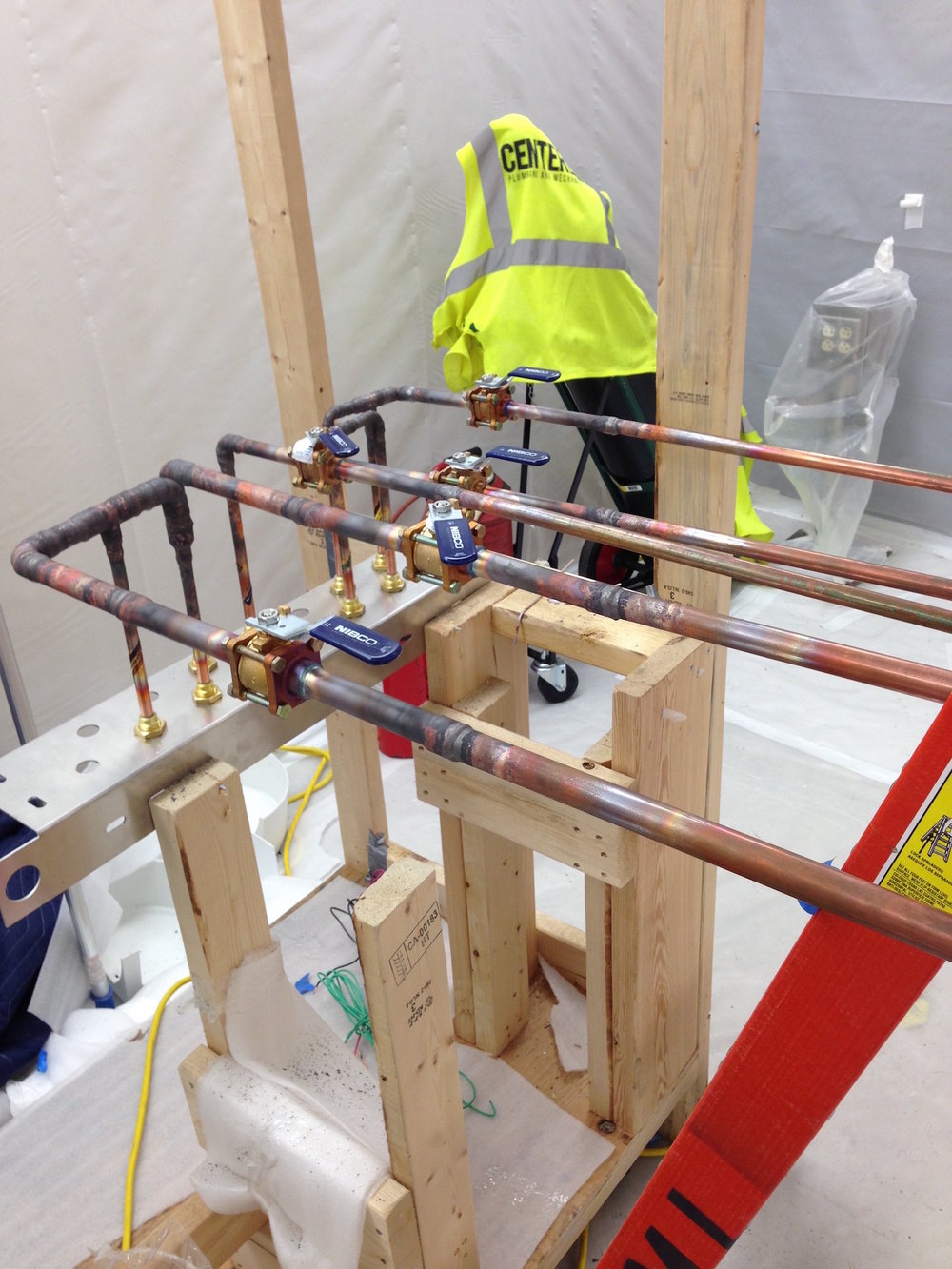 Medical Gas Installation Centerline Plumbing