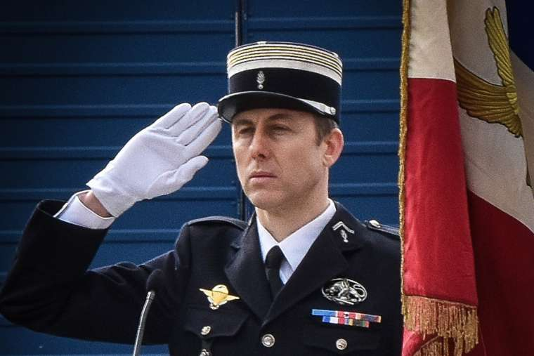 French policeman who swapped with hostage praised for his sacrifice - March 26, 2018, The National Catholic Register Click here for article.Arnaud Beltrame swapped places with a female hostage when an Islamic State-inspired gunman attacked a supermarket in southern France. Beltrame was then shot in the throat by the gunman, and died from his injuries early Saturday morning.
