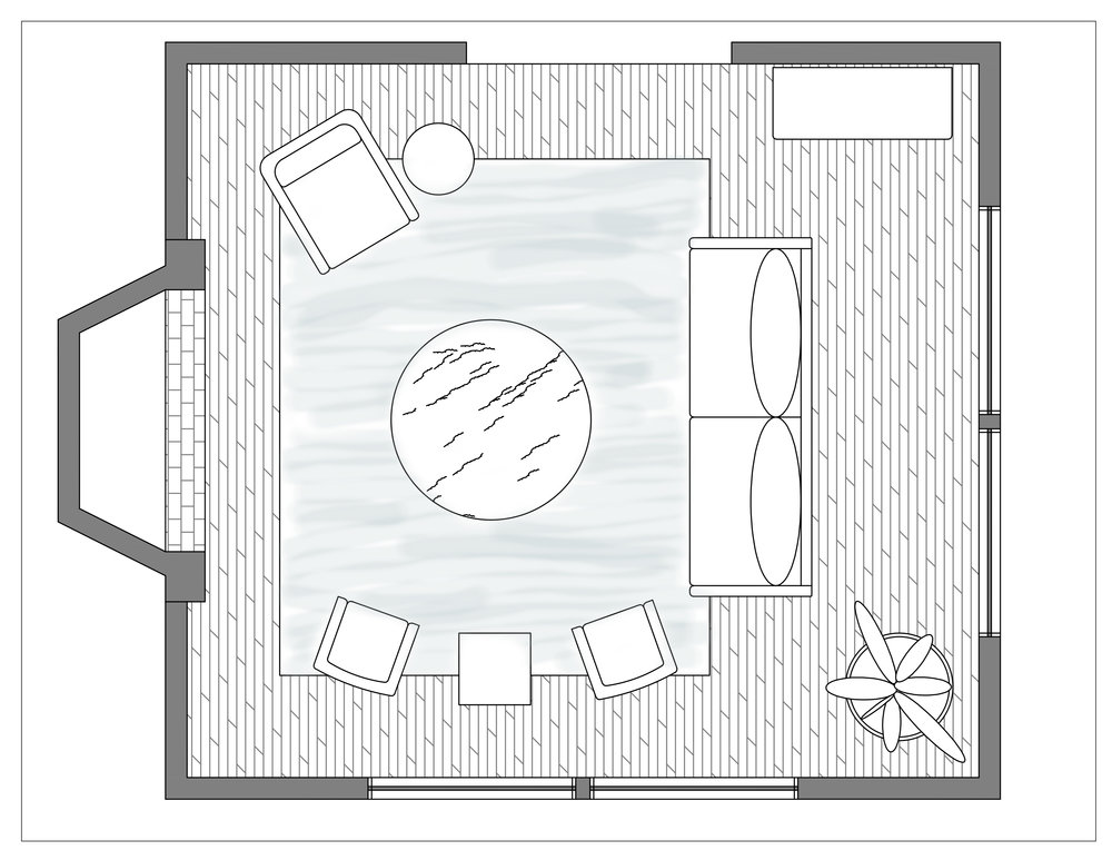 Updated furniture plan
