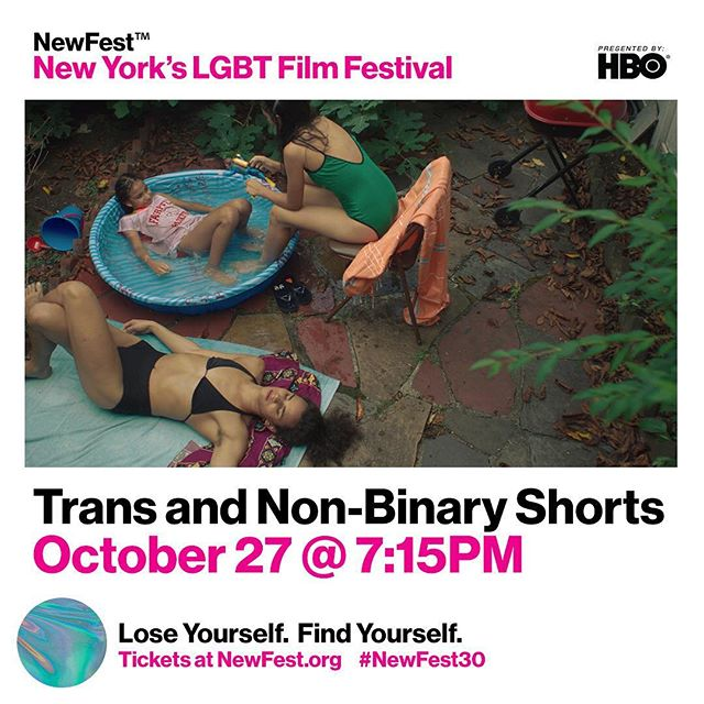 Our home town premiere this weekend in New York 🌈#newfest30