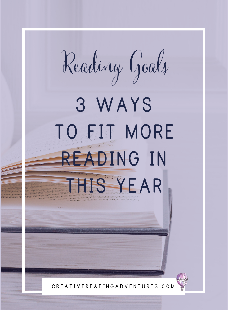Do you have a new years' resolution to read more this year? If you need help meeting that goal, here are 3 ways to fit in more reading in your busy schedules this year. Click the image to read about finding more time to read in the new year.