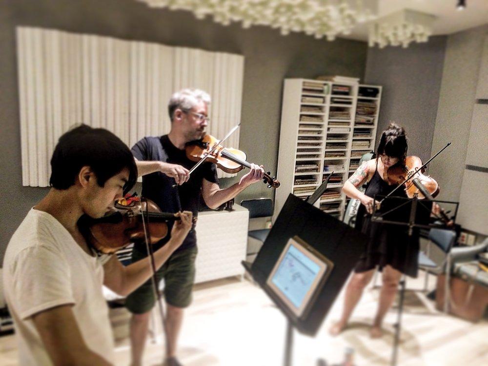 The Laurels String Quartet..