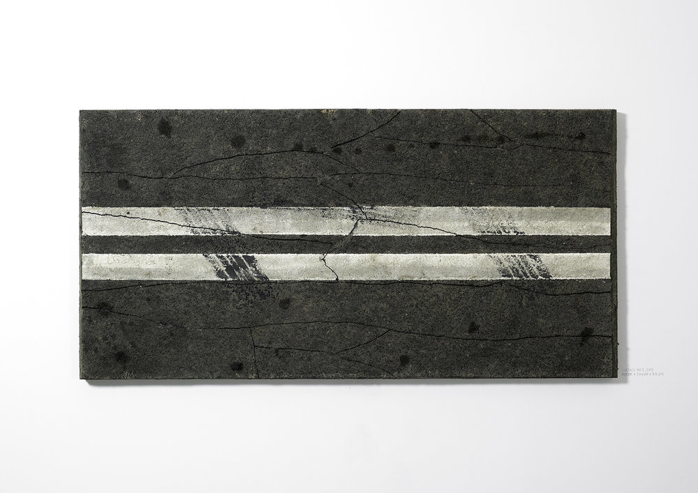 Surface No. 1 , 2012  122 cm x 244 cm x 7.5 cm