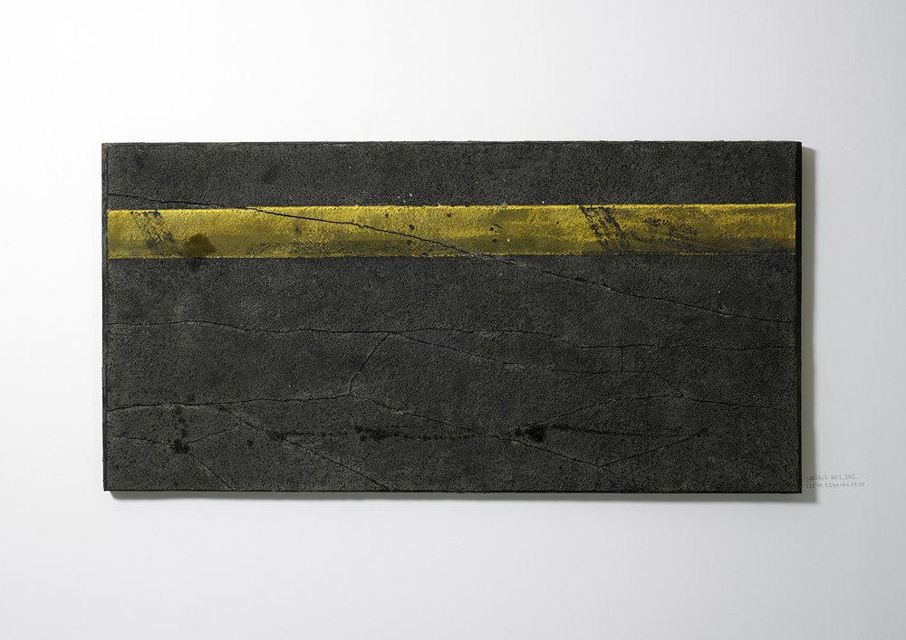 Surface No. 3 , 2012  122 cm x 244 cm x 7.5 cm