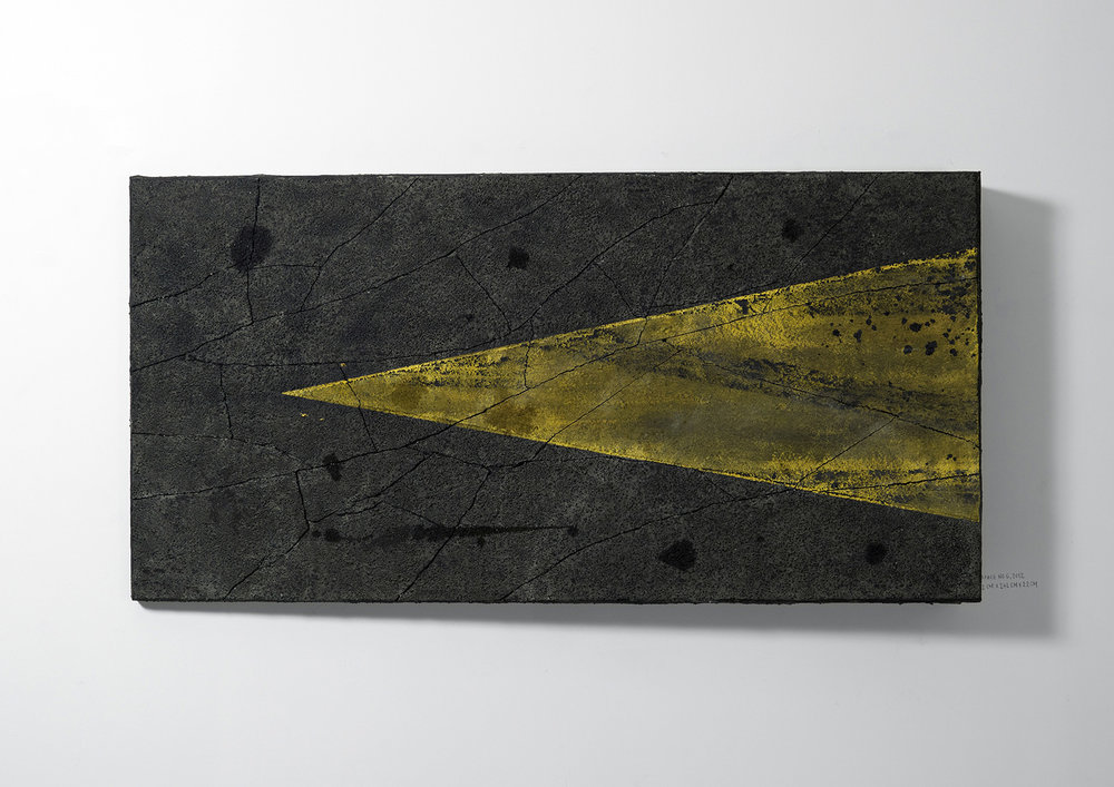 Surface No. 6 , 2012  122 cm x 244 cm x 7.5 cm