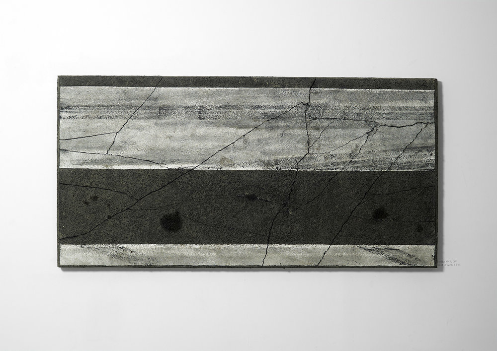 Surface No. 7 , 2012  122 cm x 244 cm x 7.5 cm