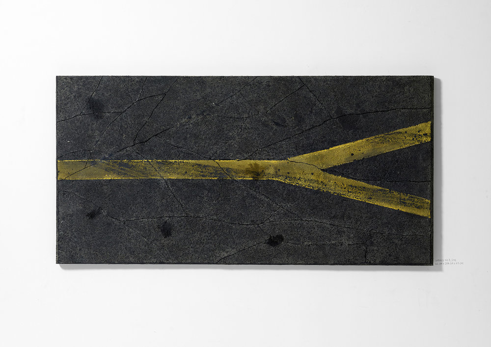 Surface No. 8 , 2012  122 cm x 244 cm x 7.5 cm