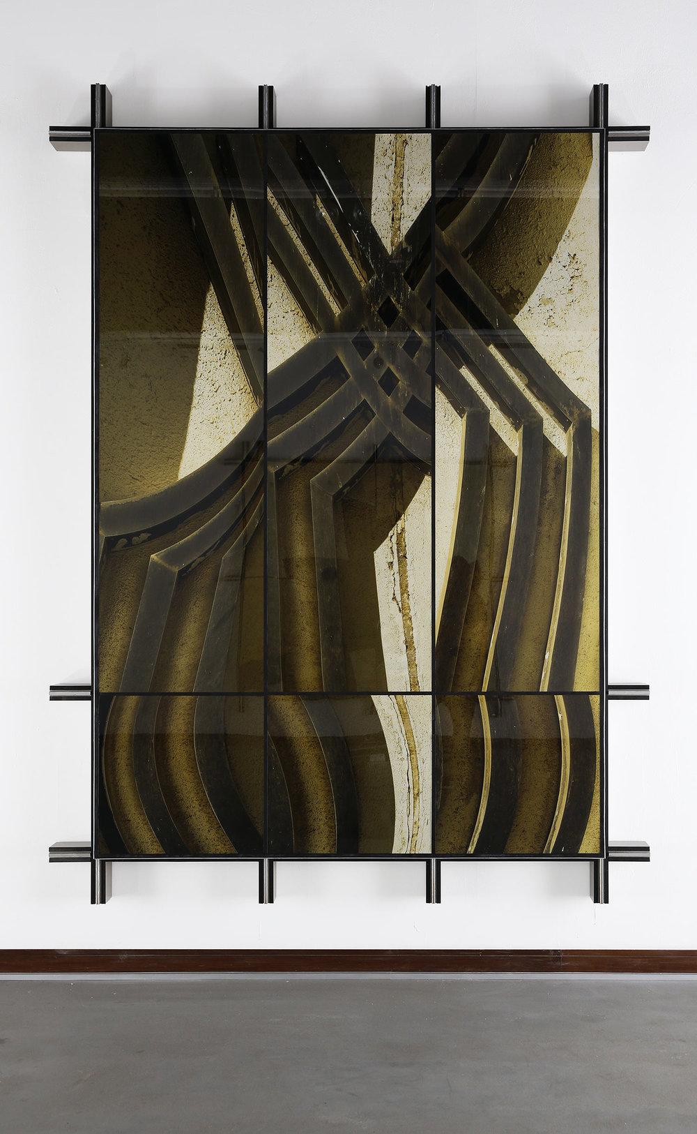 Facade No.2 , 2014  297 cm x 220 cm x 14 cm