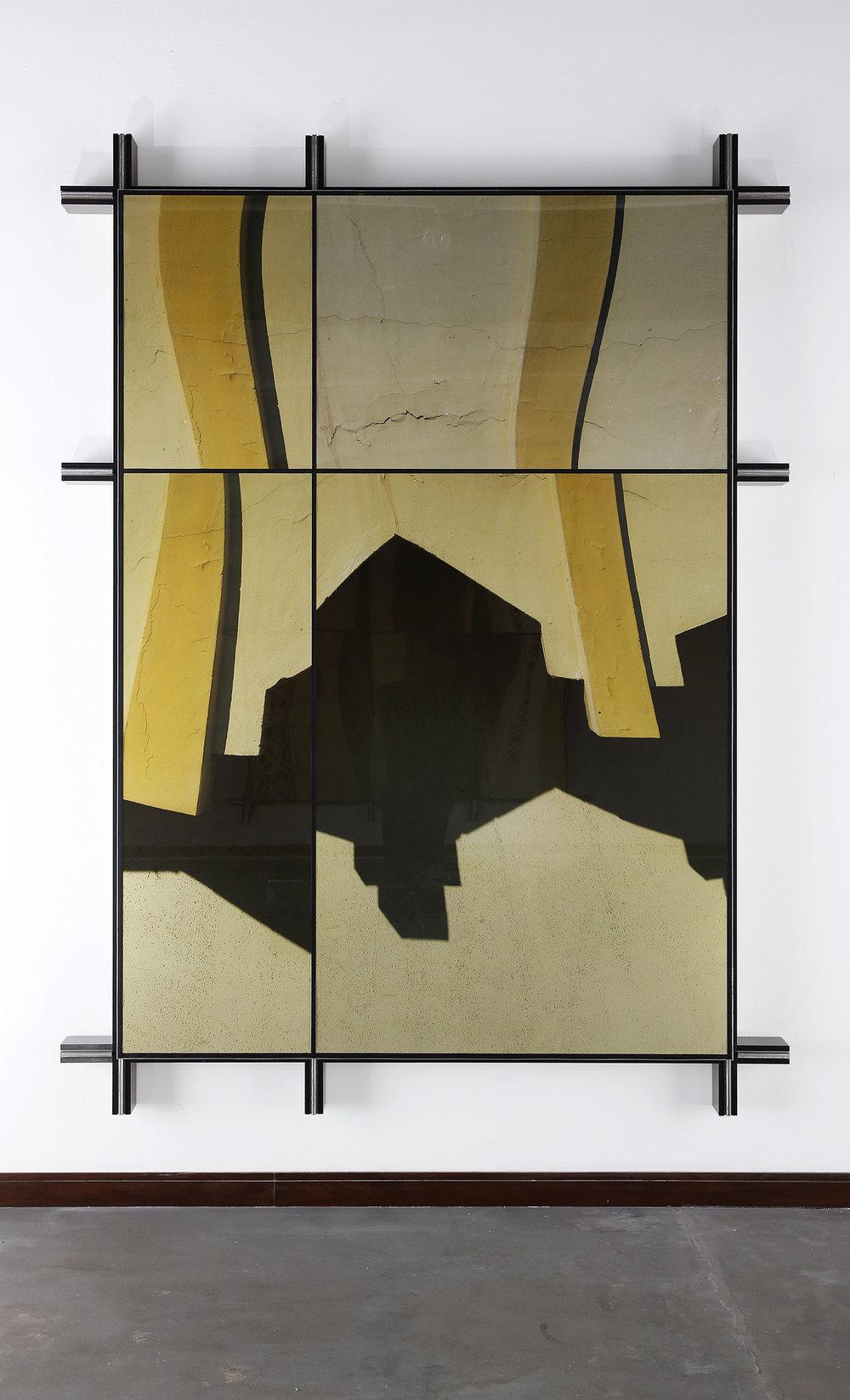 Facade No.3 , 2014  288.5 cm x 213.5 cm x 14 cm