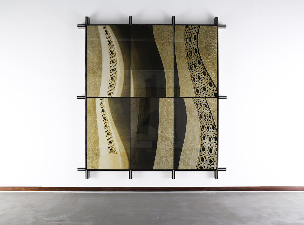 Facade No.4 , 2014  308.5 cm x 279.8 cm x 14 cm