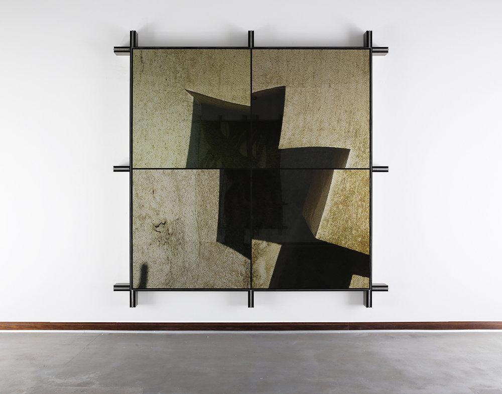 Facade No.1 , 2014  258.5 cm x 258.5 cm x 14 cm