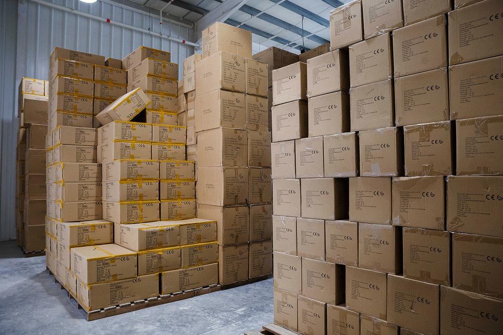Stacked goods Warehouse 82, Alserkal Avenue, Dubai